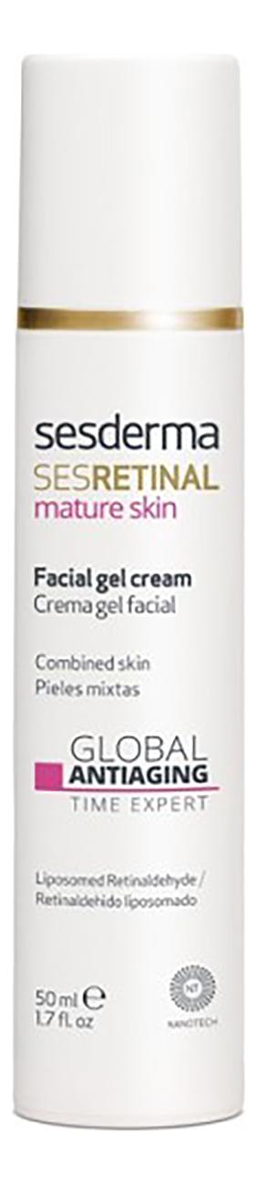 Омолаживающий крем-гель для лица Эксперт времени Sesretinal Mature Skin Crema Gel Facial 50мл