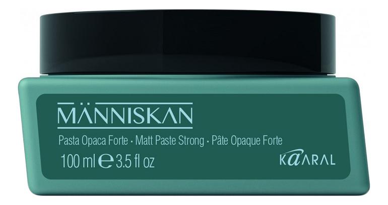 Матовая паста для укладки волос Manniskan Matt Paste Strong 100мл матовая паста для укладки волос be style matte shaper paste 100мл