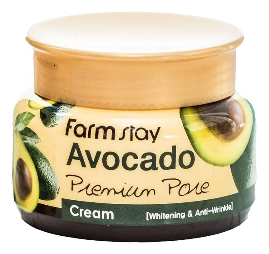 Осветляющий лифтинг-крем для лица с экстрактом авокадо Avocado Premium Pore Cream 100г