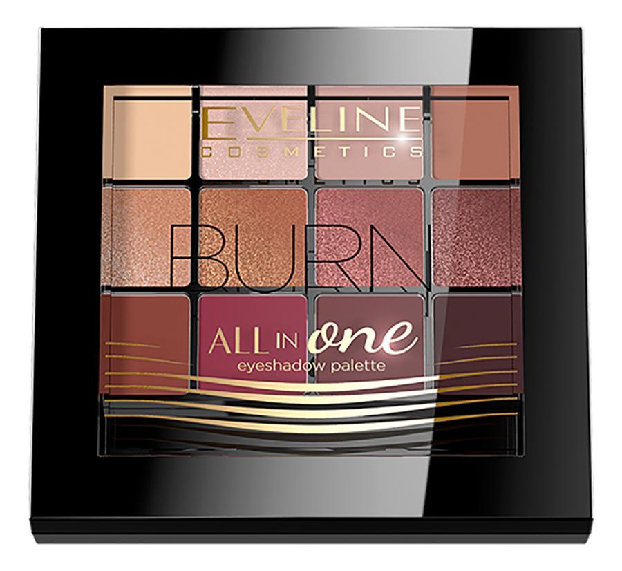 Палетка теней для век All in One Eyeshadow Palette 12г: 3 Burn