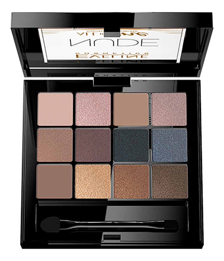 Фото - Палетка теней для век All in One Eyeshadow Palette 12г: 1 Nude палетка теней для век 32 eyeshadow palette 20г flawless