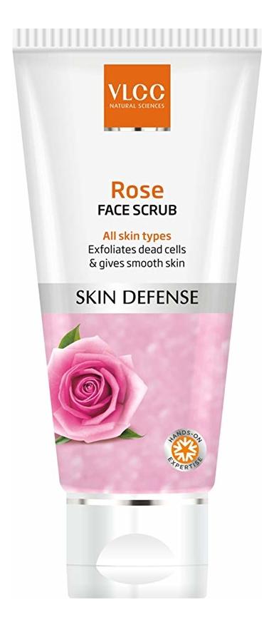 Скраб для лица с экстрактом дамасской розы Skin Care Rose Face Scrub 80мл недорого