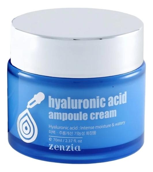 Крем для лица с гиалуроновой кислотой Hyaluronic Acid Ampoule Cream 70мл la miso ampoule cream hyaluronic крем для лица с гиалуроновой кислотой 50 г