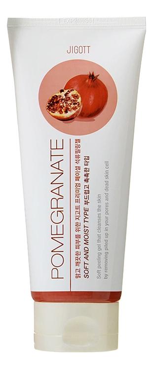Фото - Пилинг-гель для лица с экстрактом граната Premium Facial Pomegranate Peeling Gel 180мл пилинг гель для лица с экстрактом клубники peeling gel 30мл