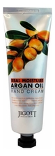 Jigott Крем для рук с аргановым маслом Real Moisture Argan Oil Hand Cream 100мл