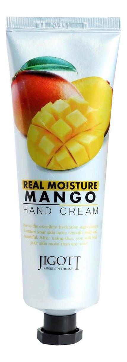 Крем для рук с маслом манго Real Moisture Mango Hand Cream 100мл фото