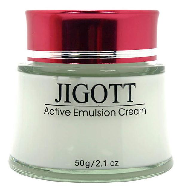 Купить Интенсивно увлажняющий крем-эмульсия для лица Active Emulsion Cream 50г, Jigott