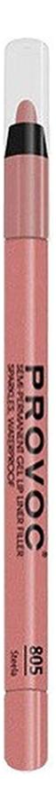 Полуперманентный гелевый карандаш для губ Gel Lip Liner Filler 1,2г: 805 Steela