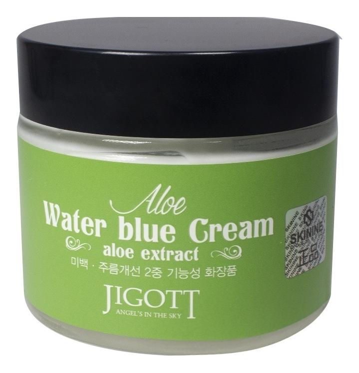 Купить Крем для лица с экстрактом алоэ Aloe Water Blue Cream 70мл, Jigott
