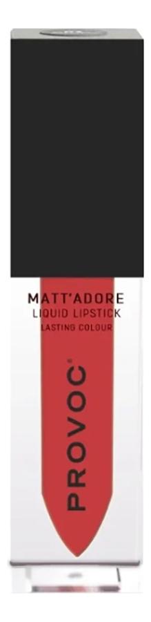 Жидкая матовая помада для губ Mattadore Liquid Lipstick 4,5г: 18 Energy недорого