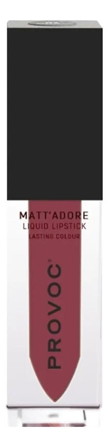 Жидкая матовая помада для губ Mattadore Liquid Lipstick 4,5г: 06 Wisdom недорого