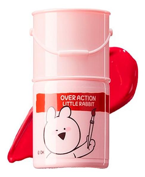 Тинт-помада для губ Over Action Rabbit Lip Paint 5г: 02 Fiery Red