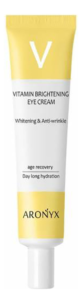 Крем для кожи вокруг глаз с витамином Aronyx Vitamin Brightening Eye Cream 40мл недорого