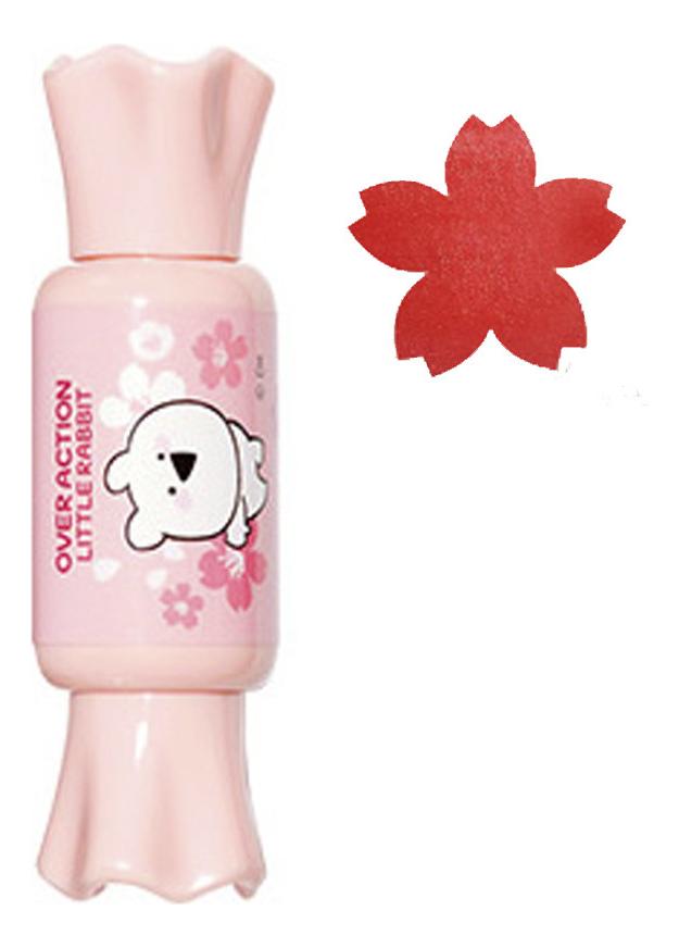 Тинт-мусс для губ Saemmul Mousse Candy Tint Over Action Little Rabbit 8г: 15 Coral