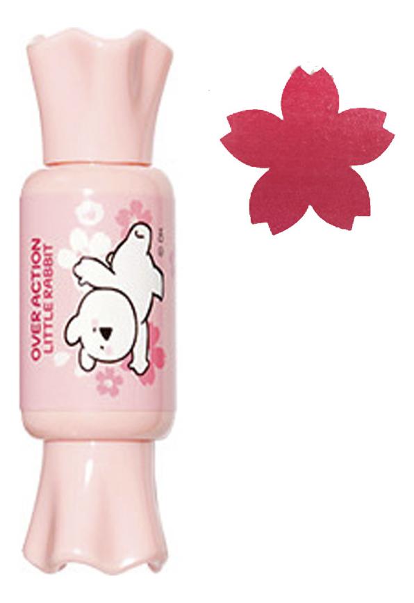 Тинт-мусс для губ Saemmul Mousse Candy Tint Over Action Little Rabbit 8г: 14 Pink