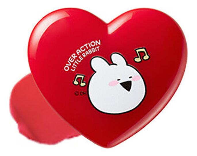 Тинт для губ универсальный Over Action Little Rabbit Love Me Multi Pot 1,2г: 02 On Top