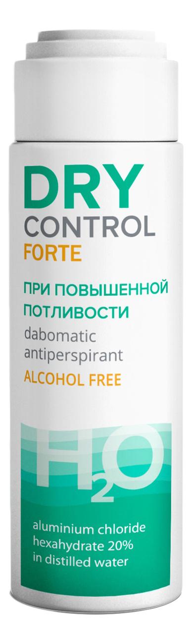Дезодорант антиперспирант без спирта при повышенной потливости Forte H2O Dabomatic 20% 50мл dry control forte h2o антиперспирант роликовый без спирта от обильного потоотделения 20% 50 мл