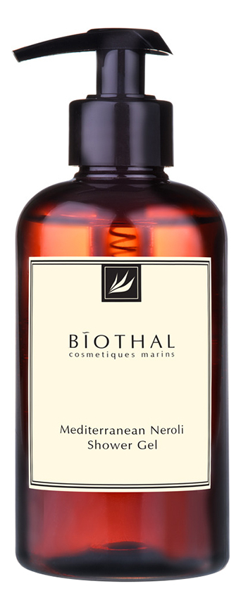 Купить Гель для душа Средиземноморская нероли Mediterranean Neroli Shower Gel 300мл, Biothal