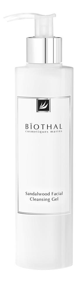 Купить Гель для умывания Сандал Sandalwood Facial Cleansing Gel 200мл, Biothal