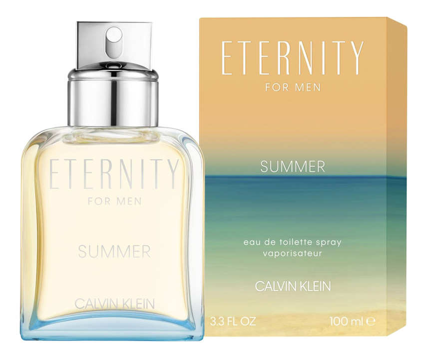 Calvin Klein Eternity For Men Summer 2019: туалетная вода 100мл