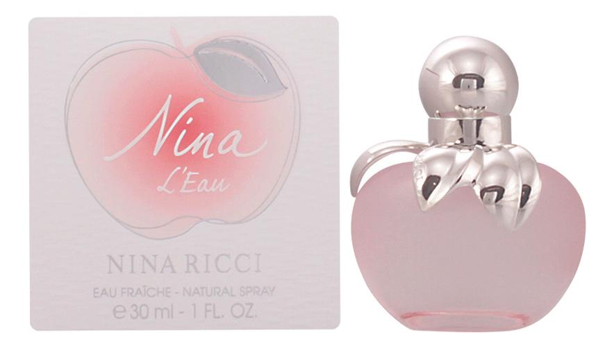 Nina Ricci Nina L'Eau Les Belles De Nina: туалетная вода 30мл (старый дизайн) nina alvén zdominowana