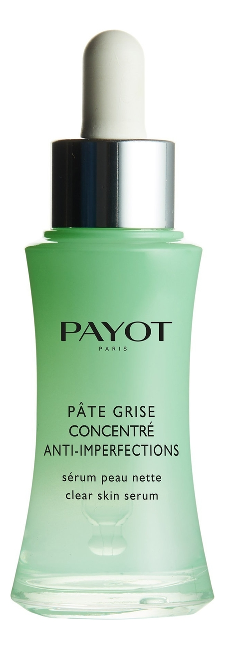 Сыворотка-флюид для лица с цинком Pate Grise Concentre Anti-Imperfections 30мл сыворотка флюид для комбинированной и жирной кожи payot pate grise 30 мл