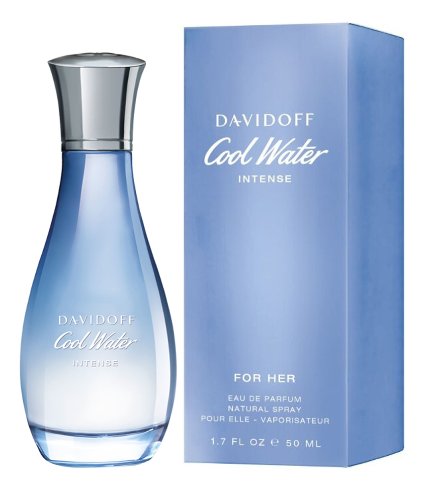 Cool Water Intense For Her: парфюмерная вода 50мл недорого