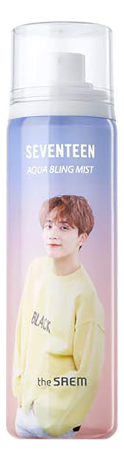 Мист для лица увлажняющий Seventeen Aqua Bling Mist Jeonghan 110мл (Sweet Woody) фото