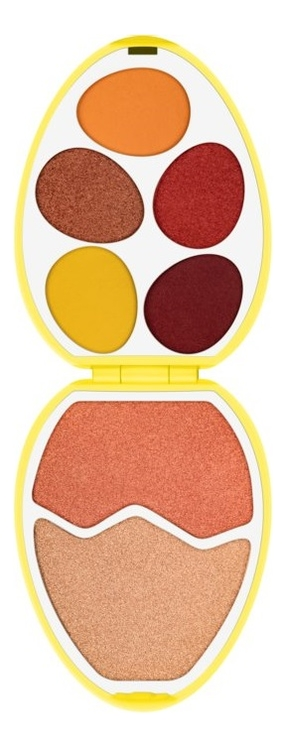 Палетка теней и румян I Heart Revolution Easter Egg Shadow Palette: Chick