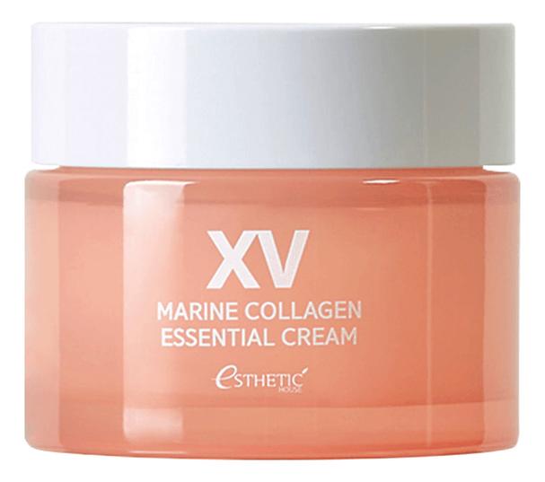 Крем для лица с морским коллагеном Marine Collagen Essential Cream 50мл недорого