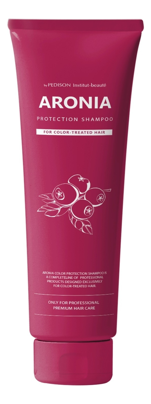 Купить Шампунь для волос с экстрактом аронии Pedison Aronia Color Protection Shampoo: Шампунь 100мл, Evas Cosmetics