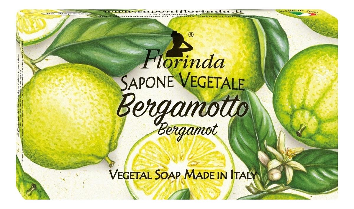 Натуральное мыло Fiori D'Autunno Bergamotto: Мыло 200г натуральное мыло dolce vita eleganza мыло 200г