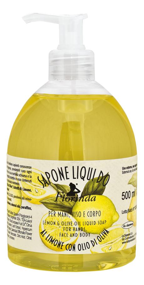 Жидкое мыло Фруктовая страсть Sapone Liquido Limone 500мл (лимон) недорого