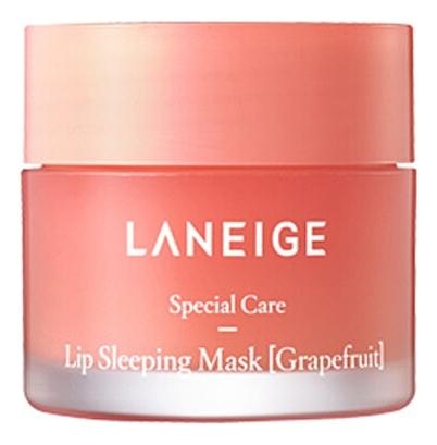 Ночная маска для губ с ароматом грейпфрута Lip Sleeping Mask Grapefruit 20г laneige sleeping mask маска для кожи вокруг глаз ночная