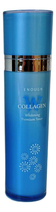 Тонер для лица осветляющий W Collagen Whitening Toner 130мл