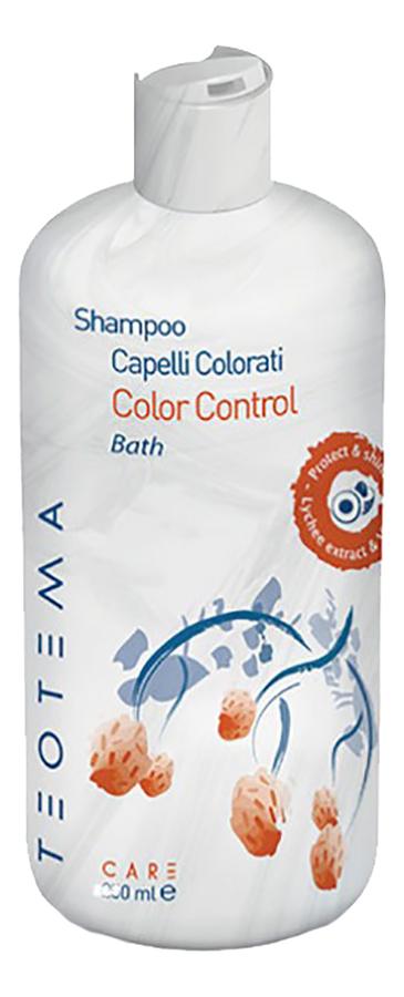 Купить Шампунь для окрашенных волос Color Control Shampoo: Шампунь 1000мл, Teotema