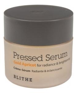 Спрессованная сыворотка-крем для лица Золотой абрикос Pressed Serum Gold Apricot: Сыворотка 20мл недорого