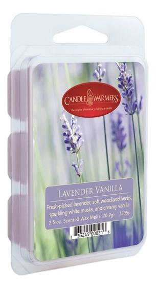 Наполнитель для воскоплавов Лаванда и ваниль Lavender Vanilla Wax Melts 70,9г наполнитель для воскоплавов after the rain wax melts 70 9г