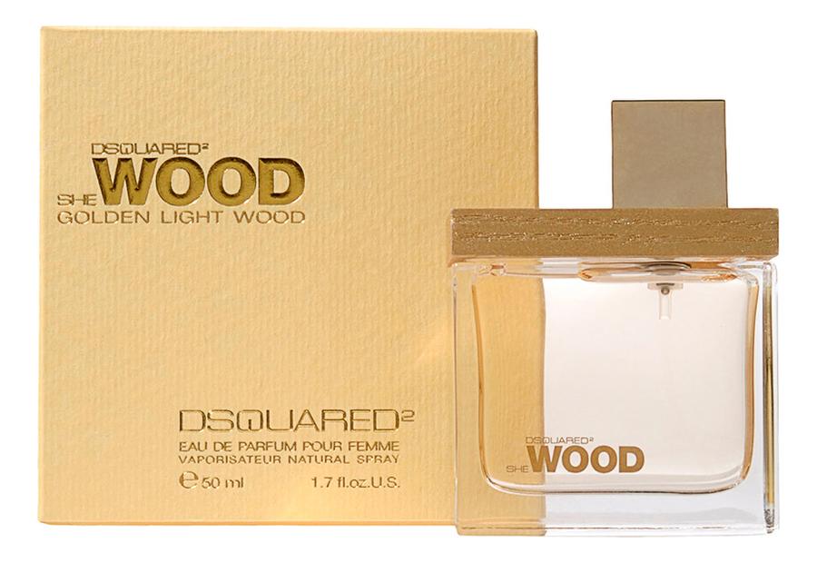 Купить Dsquared2 She Wood Golden Light Wood : парфюмерная вода 50мл