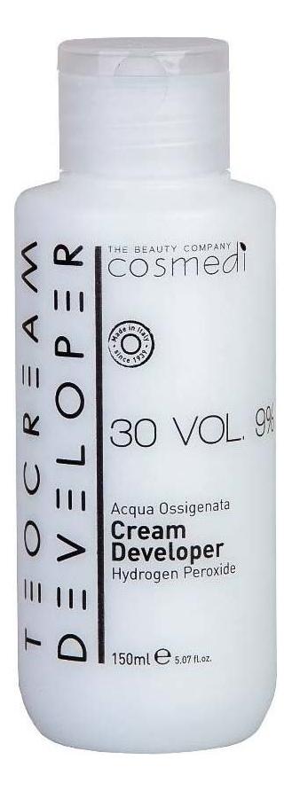 Купить Крем-проявитель для окрашивания волос Color Cream Developer 9% (30 vol): Крем-проявитель 150мл, Teotema