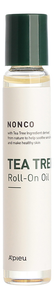 Роликовое масло чайного дерева Nonco Tea Tree Roll-On Oil 8мл