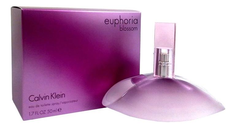 Купить Euphoria Blossom: туалетная вода 50мл, Calvin Klein