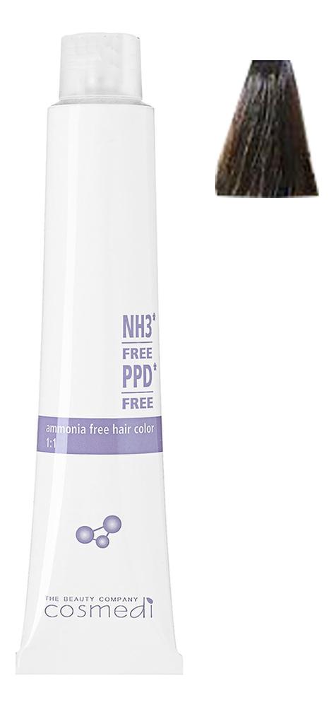 Стойкая безаммиачная крем-краска для волос Color Cosmedi 100мл: 6.23 Темный фиолетовый золотистый блондин безаммиачная краска для волос матрикс отзывы
