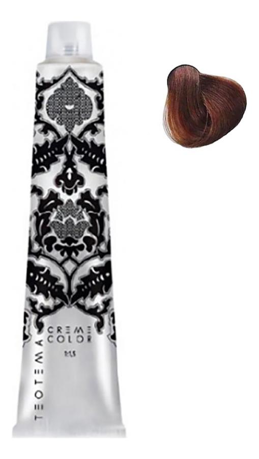 Купить Стойкая крем-краска для волос Cream Color 100мл: 6.43 Темный медный золотистый блондин, Teotema