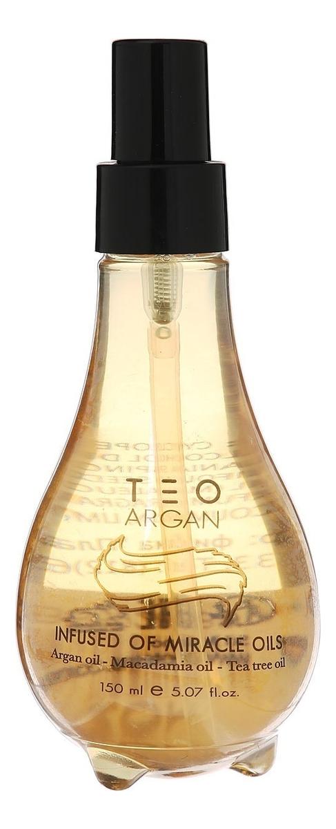 Аргановое масло-эликсир для волос Teo Argan: Масло 150мл со эликсир купить