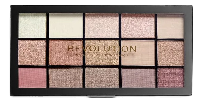 Купить Палетка теней для век Reloaded Palette: Iconic 3.0, Makeup Revolution