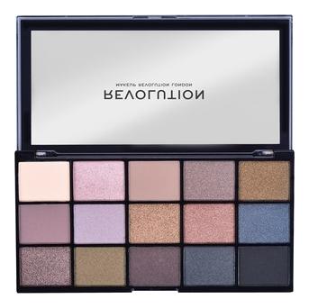 Купить Палетка теней для век Reloaded Palette: Smoky Neutrals, Makeup Revolution