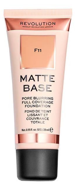 Тональная основа для лица Matte Base 28мл: F11 фото