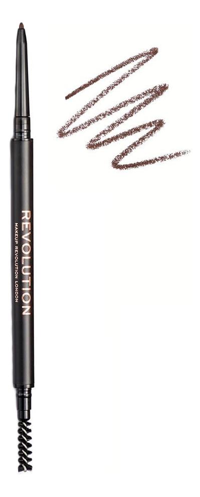 Карандаш для бровей Precise Brow Pencil 0,05г: Medium Brown карандаш для бровей real brow fiber pencil 3 8г 003 medium brown