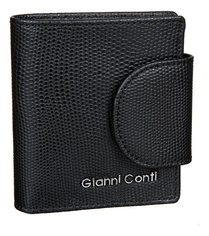 Портмоне Black 2787472 cover for avtodokumentov and passport gianni conti 708454 black